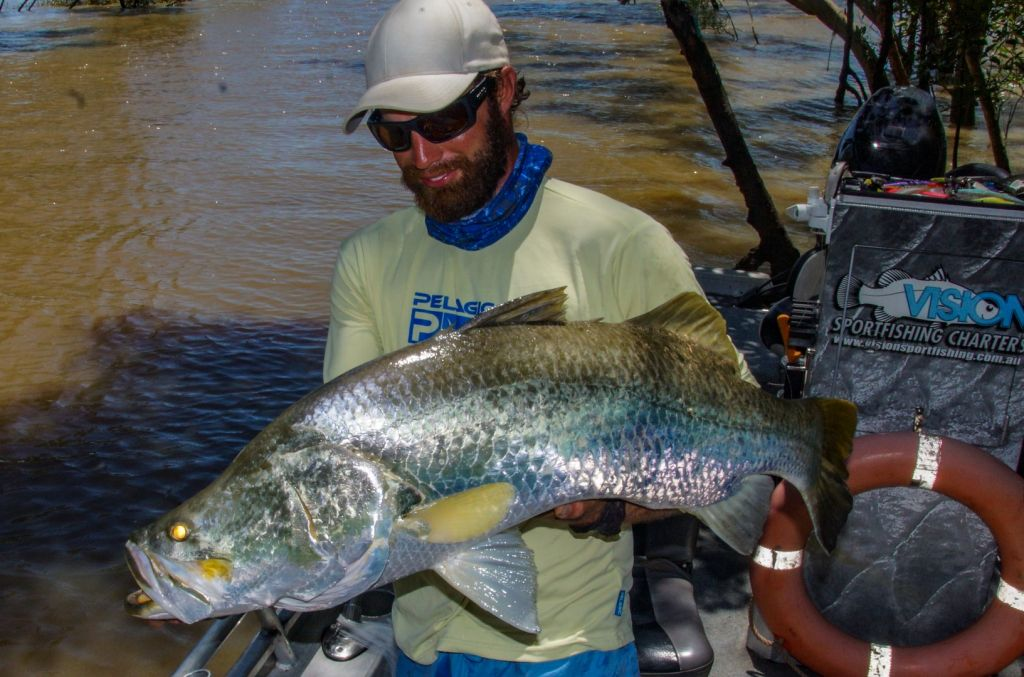 Build Up Barra Fishing Darwin