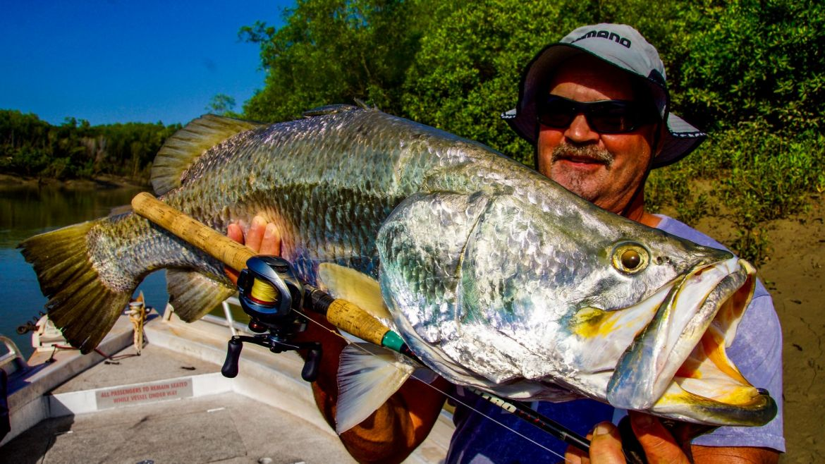 Darwin Fishing Charters with Vision Sport Fishing
