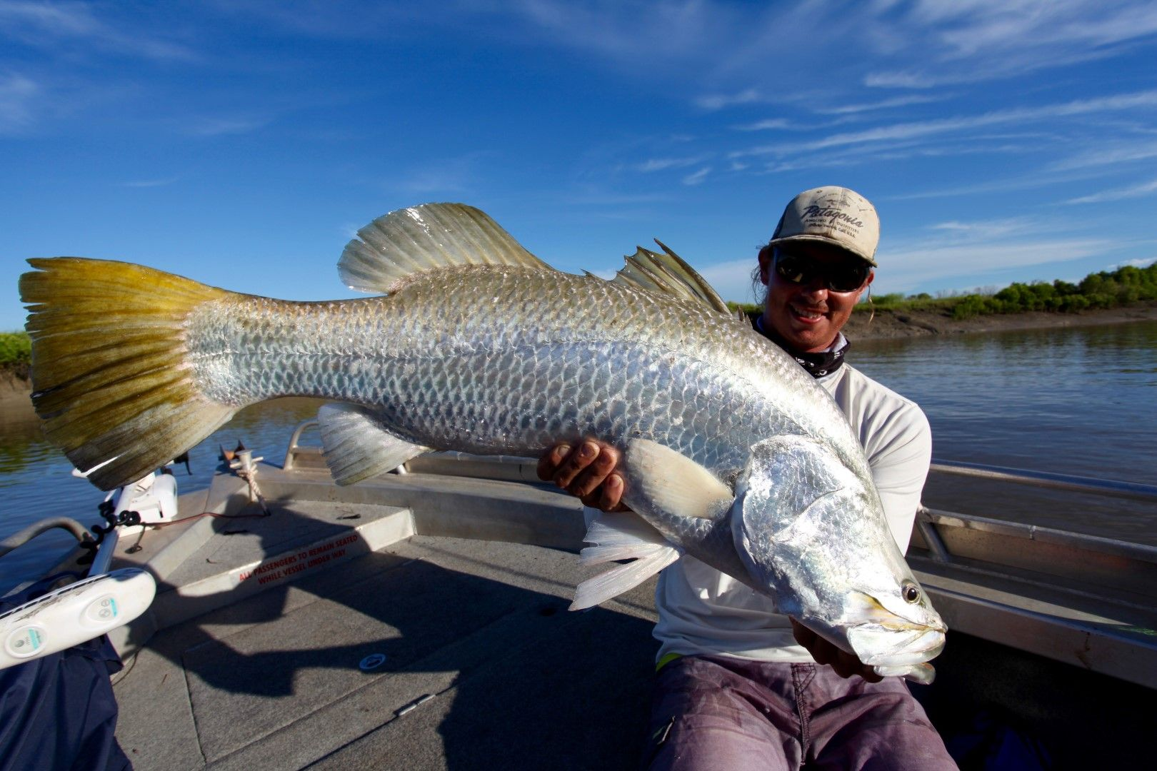 Barra Fishing Darwin with Vision Sport Fishing Charters Darwin